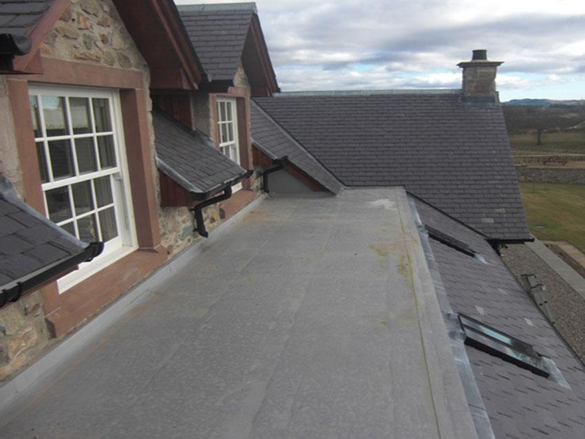 J Reynolds Building Services Flat Roofing Based In Stirlingshire